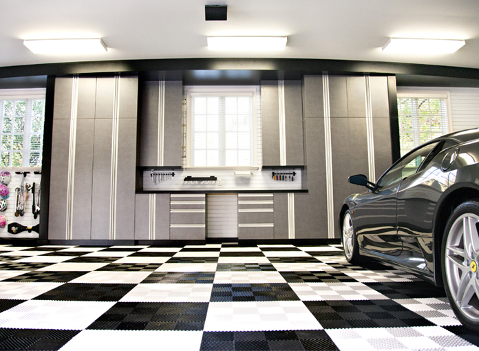 4 Good Options for Covering Garage Floors